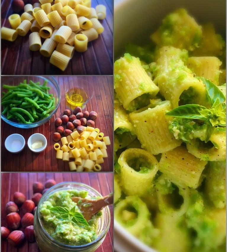 Pasta with Green Beans Pesto