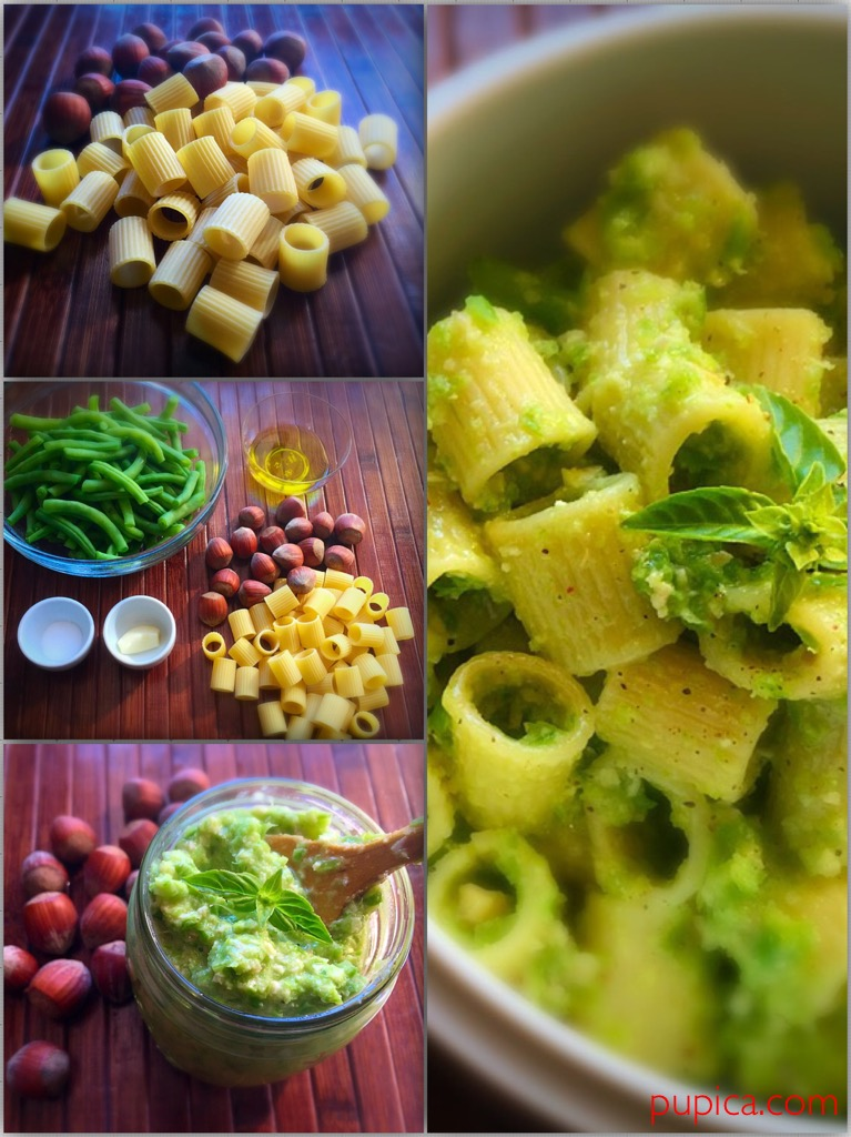Pasta with Green Beans Pesto
