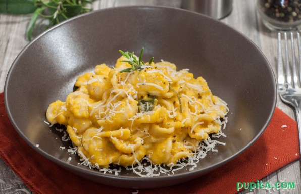 One-Pot Pumpkin Pasta